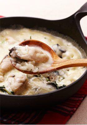 フライパンde牡蠣シチュードリア by おいしいコープ [クックパッド ...