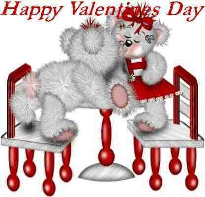 valentine day first kiss