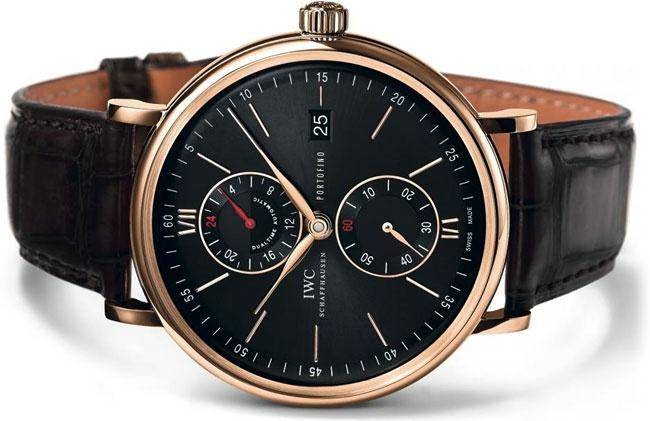 IWC Portofino Dual Time. Elegant luxury.