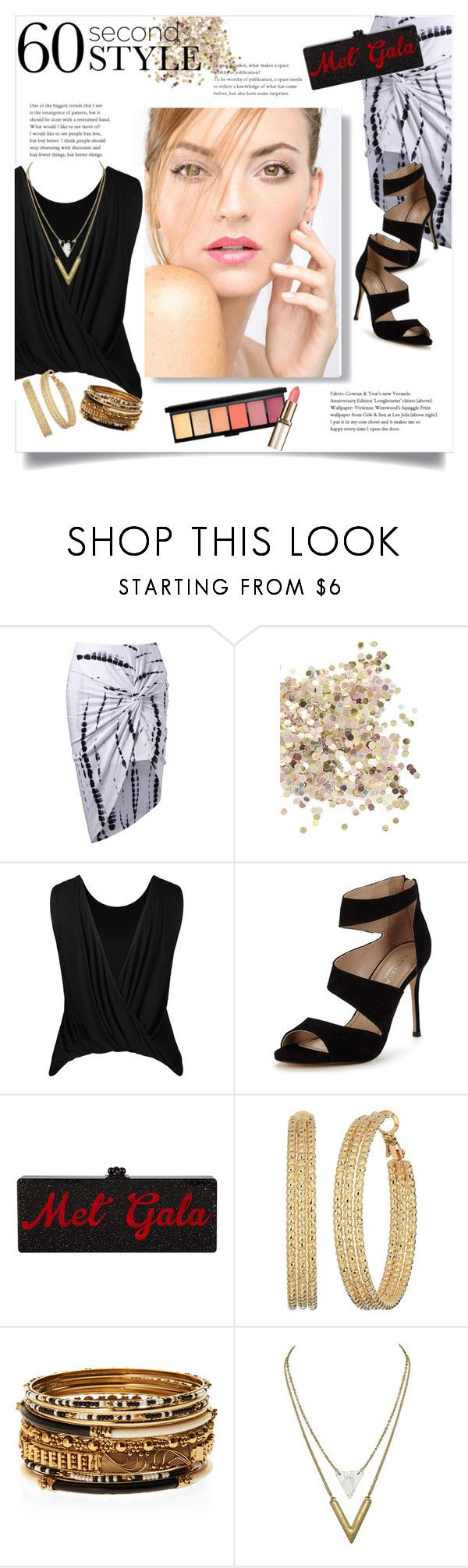"""""""Asymmetrical"""" by aeris645 ❤ liked on Polyvore featuring Topshop, Carvela, GUESS, Amrita Singh, asymmetricskirts and 60secondstyle"""