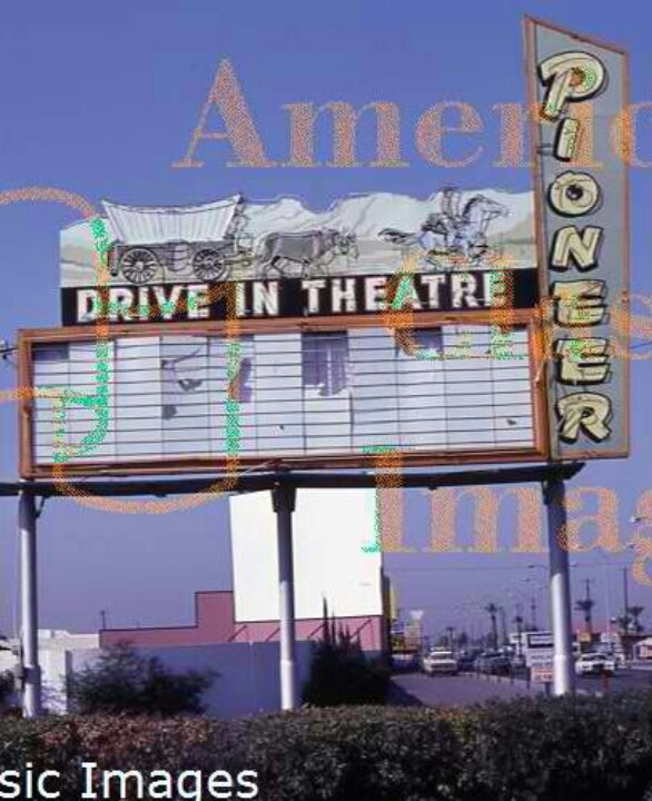 Pioneer Drive In,saw All My First Clint Eastwoods Here