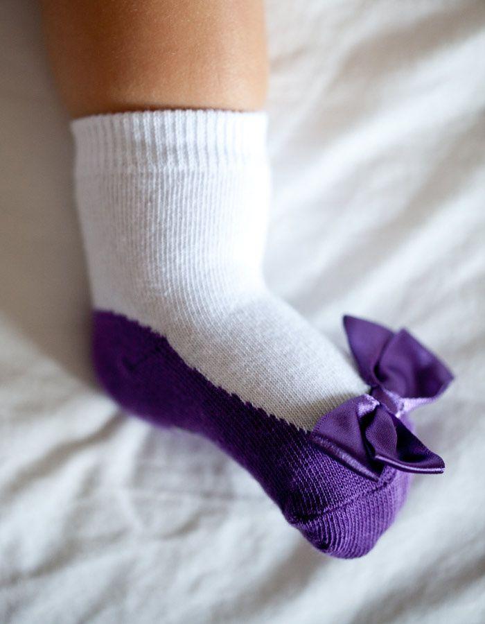 """""""Lucy's"""" - ponožky Trumpette    / lavmi"""