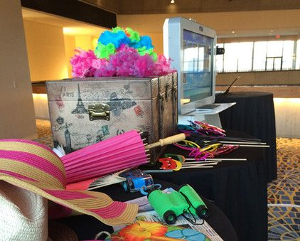 Pump up the fun factor with the addition of a photo booth at your next event! It'll keep guests mingling and give them a souvenir to take home.