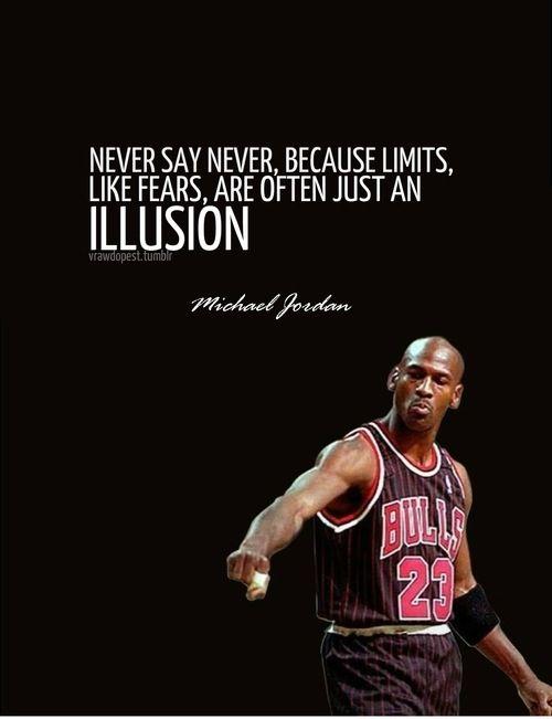 Micheal Jordan quote