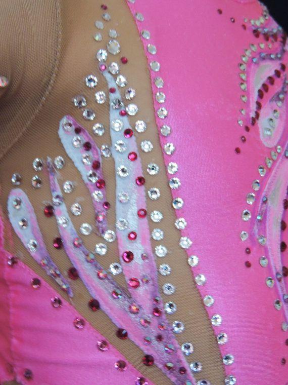 Competition Rhythmic Gymnastics Leotard SOLD by Savalia on Etsy