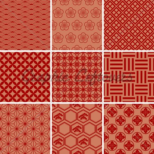 of chinese pattern background vector art clipart and stock vectors