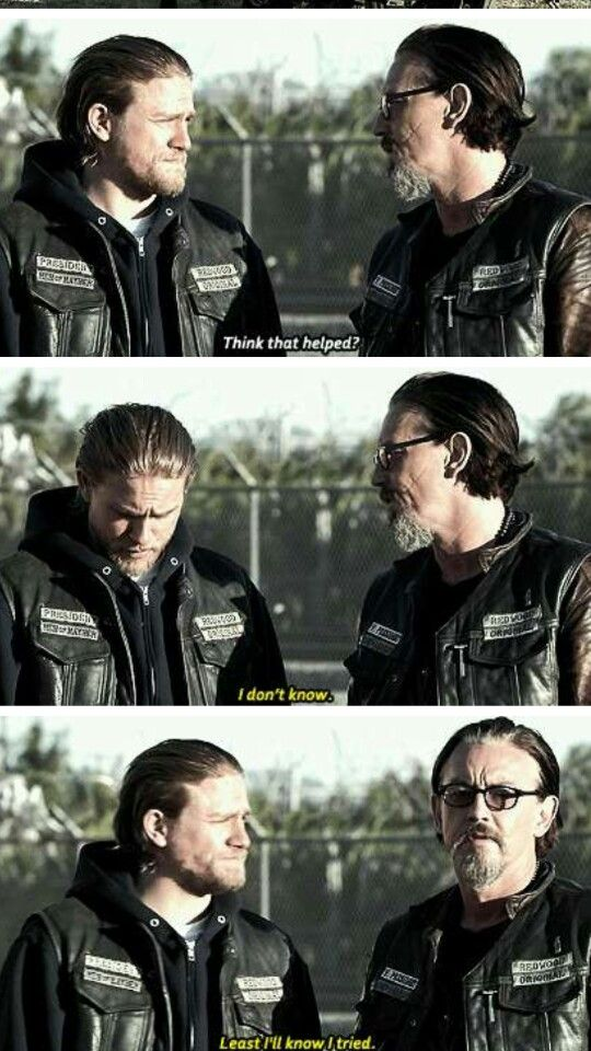 Jax & Chibs ... My favorite Sons and they better be alive when SOA ends.