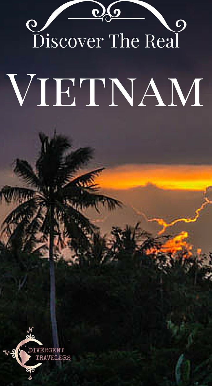 Discover the real Vietnam. Vietnam is a country located in SE Asia. After many years of war and closure to the outside world, Vietnam opened its doors completely to tourism in 1997 and since has worked hard to develop their tourism industry. Read about our Travel Adventures in Vietnam at http://www.divergenttravelers.com/destinations/vietnam/