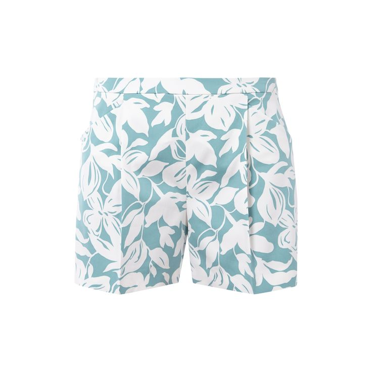 #HUGO #Bermudas mit #floralem #Muster für #Damen - Damen Bermudas von HUGO, Viskose-Elasthan-Mix, Kurzer Schnitt, Nahtreißverschluss auf der Rückseite, Gelegte Falten im Taillenbereich, Zwei Eingrifftaschen, Ziernähte, Zierleiste am Gesäß, Florales Muster, Bundweite bei Größe 36: 78 cm