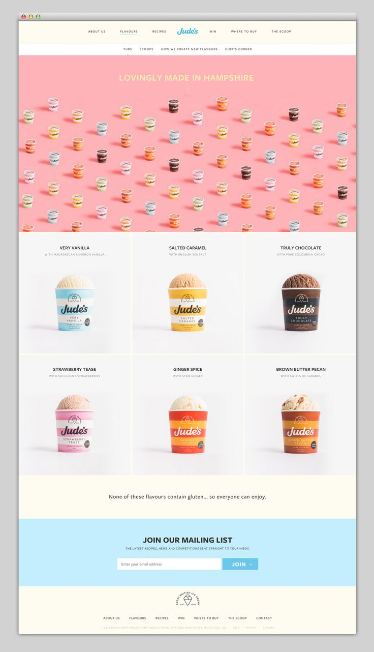 www.judes.co.uk | Websites We Love — Showcasing The Best in Web Design