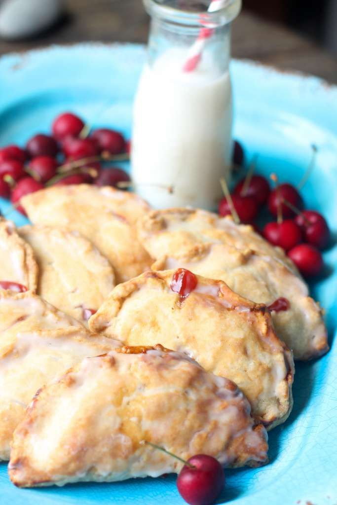 Fresh Cherry Hand Pies - a sweet treat by the Seaside Baker