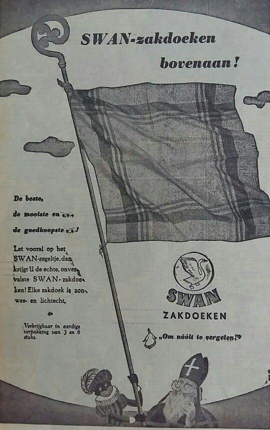 SWAN zakdoeken advertentie 1951