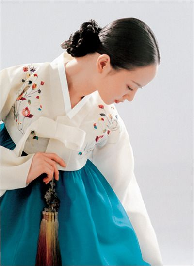한복 hanbok, Korean traditional clothes…