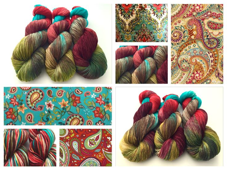 Paisley  colorway by Witch Candy