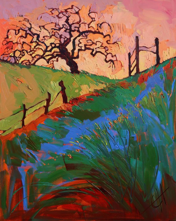 Paso robles original oil painting for sale by open for Original oil paintings for sale by artist