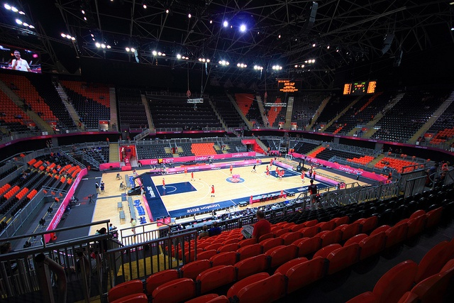London 2012 Olympic Basketball Arena by , via Flickr