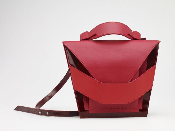 Layered Red Bag
