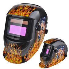 New Solar Auto Darkening Welding Helmet + 3 Lens Tig Mask Grinding Welder Mask 7 Was: $31.52 Now: $27.89.