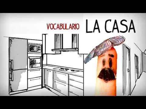 Vocabulary House In Spanish The Name Of Rooms And Parts Basic