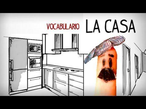 Vocabulaire la maison, espagnol facile - YouTube, TioSpanish.