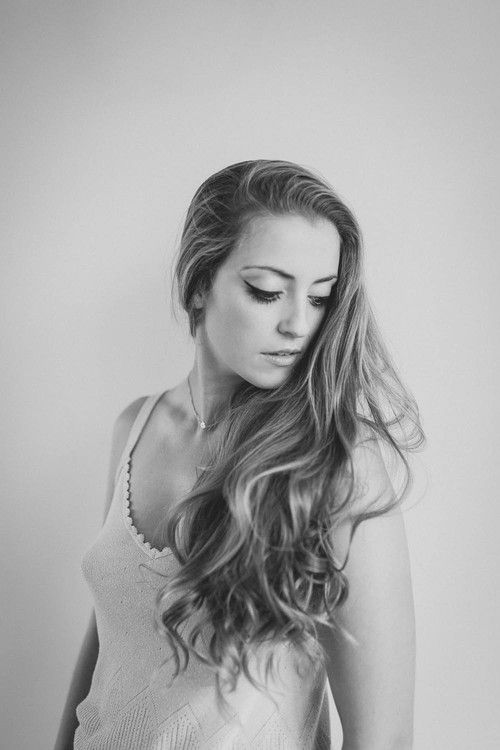 Amazing Hair, Black and White, Boudoir. Fine Art Women's Portraiture Photography By Novella.