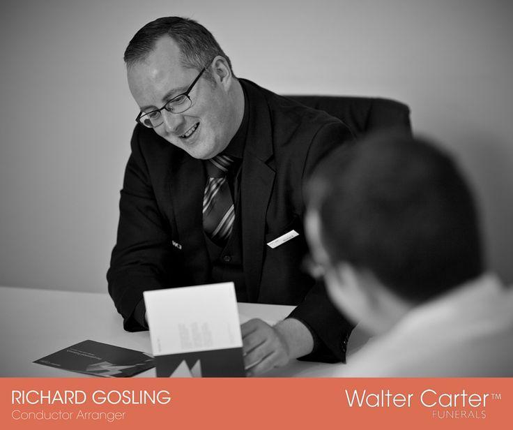 Richard Gosling is a Conductor Arranger at Walter Carter Funerals.