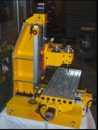 DIY small CNC micro milling machine