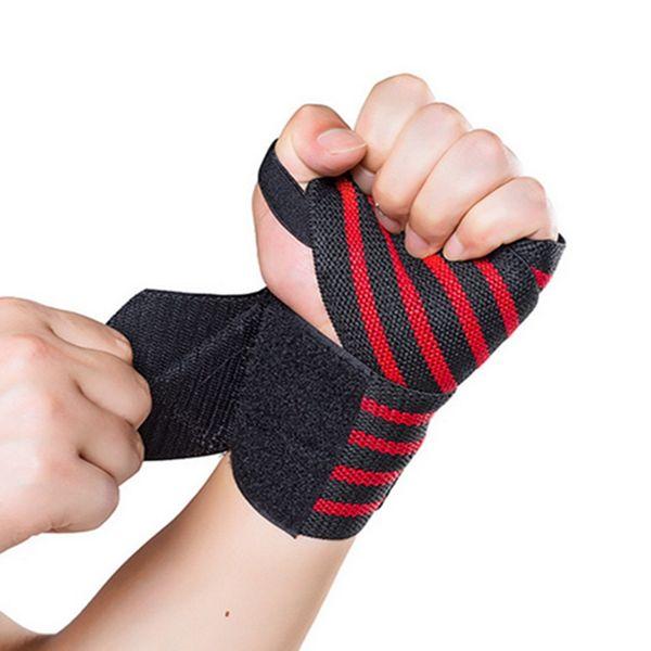 Spandex Weight Lifting Tennis Sports Sprain Prevention Fist  Wrist Supports Straps Brace