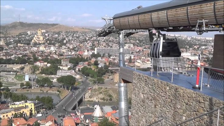 Tbilisi-თბილისი Тбилиси. Тбилисский фуникулер (თბილისის ფუნიკულიორი).  П...