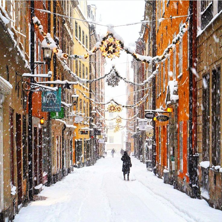 Winter/christmas time in Stockholm