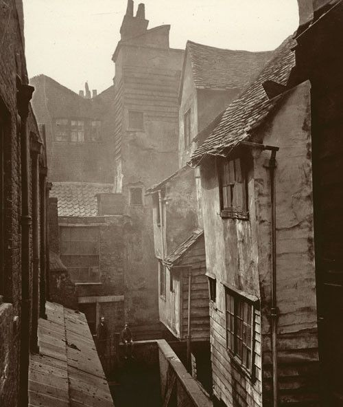 The Poor's Churchyard, Smithfield. c. 1877