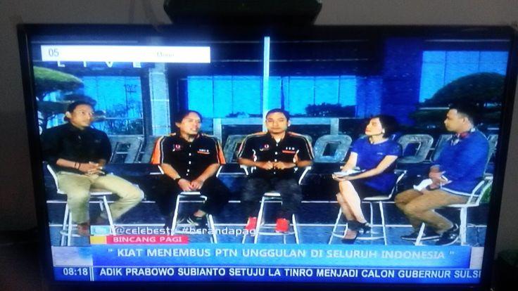 """Talkshow Bimbel Plus FOUR J - OPERATION (4JO) @ Celebes TV Makassar """"Tips and Trik Tembus PTN Favourite 2016"""""""