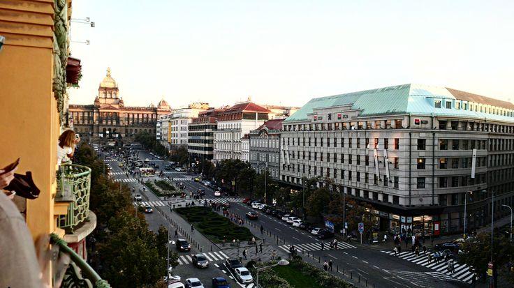 Krásný pohled na Václavské náměstí přinesla výstava DesignBlok.