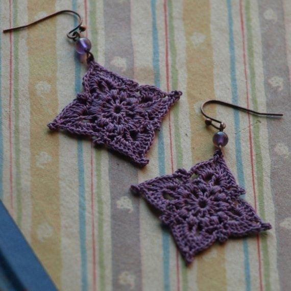 Crochet earrings <- @Abbie Barnes Woodard can we learn how to make these?