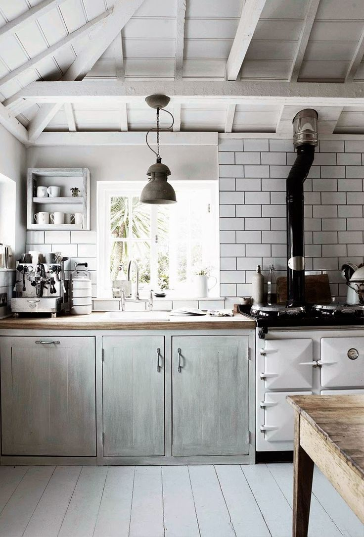 An espresso machine and an Aga.  It's all I need.