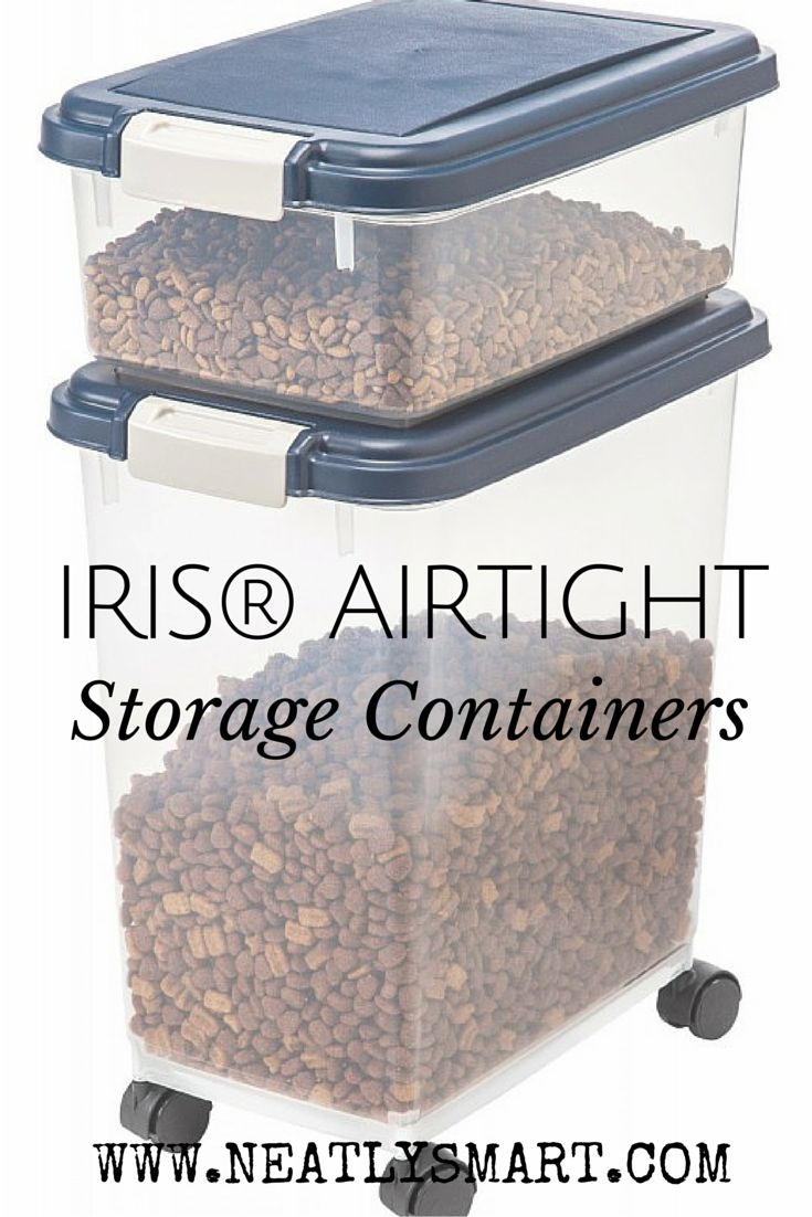 Garage garage organization via a bowl full of lemons the white bins - Iris Airtight Storage Container Combo The Perfect Thing For Your Pet S Food Pet Foodstorage Containersyour Petirisesorganizegaragehacks