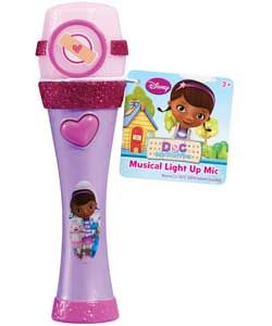 Doc McStuffins Musical Light Up Microphone.