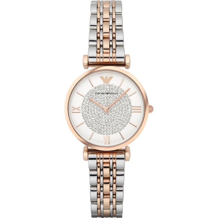 AR1926 - Emporio Armani Ladies Two Tone Steel Dress Watch