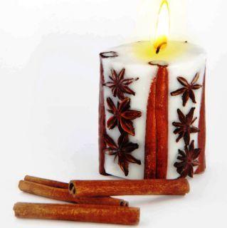 Эко свеча SPICY DREAMS с корицей и звездочками аниса, Chocolatte