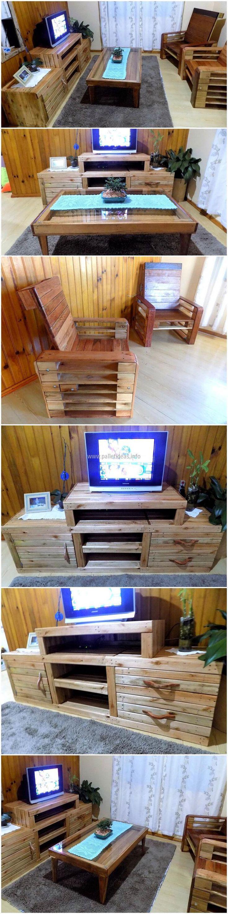 7509 best pallet furniture images on pinterest wood for Reuse furniture ideas