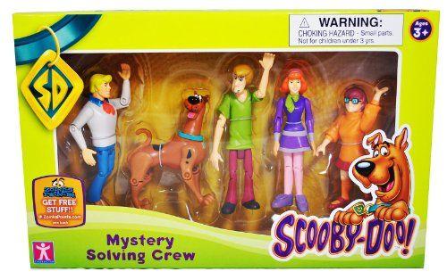 "Scooby Doo Mystery Solving Crew 5"" Action Figure 5-Pack Hanna-Barbera http://www.amazon.ca/dp/B003H3B4BG/ref=cm_sw_r_pi_dp_15Kzub1V54FB0"
