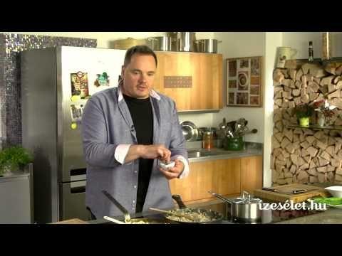 Sült, rakott karfiol kolbászos morzsával és fokhagymás tejföllel