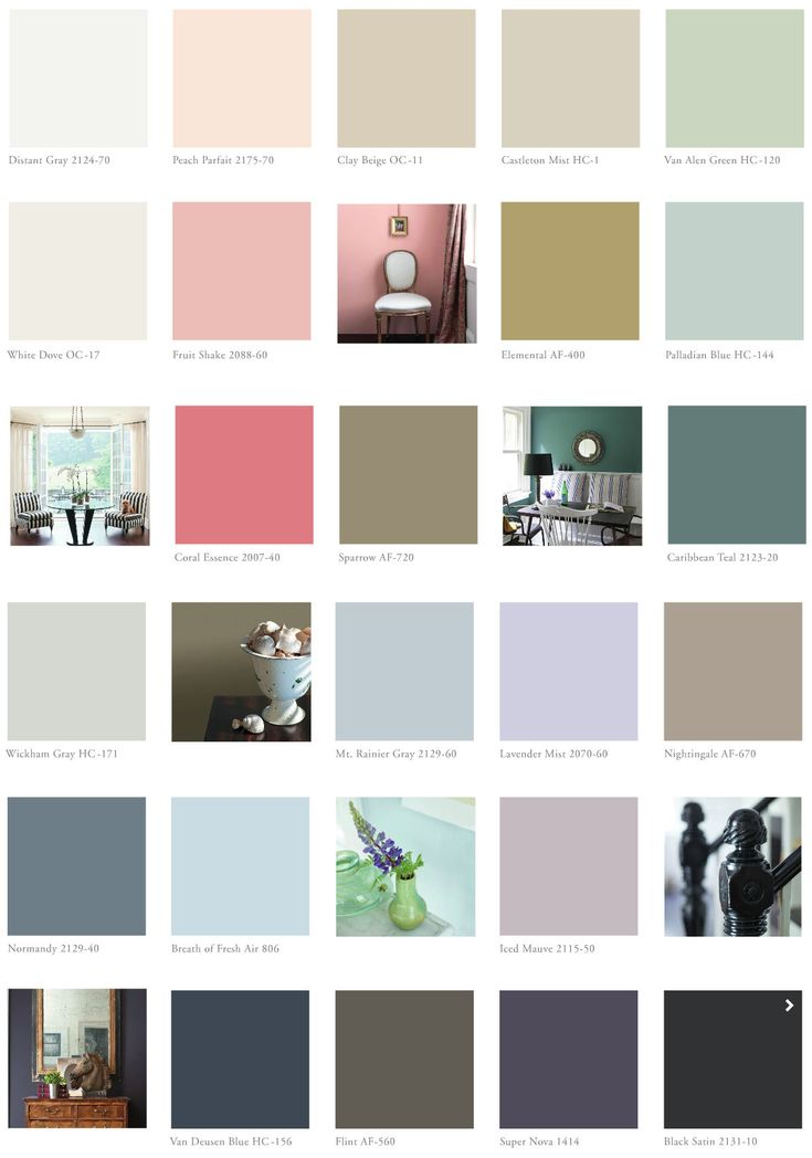 Benjamin Moore 2014 Color Trends