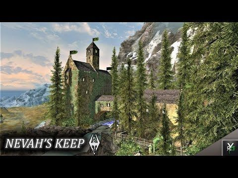 NEVAH'S KEEP: Castle Player Home!!- Xbox Modded Skyrim Mod Showcase