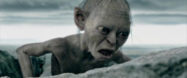 When you check your bank account. | 26 Gollum Reaction Faces Every Twentysomething Needs