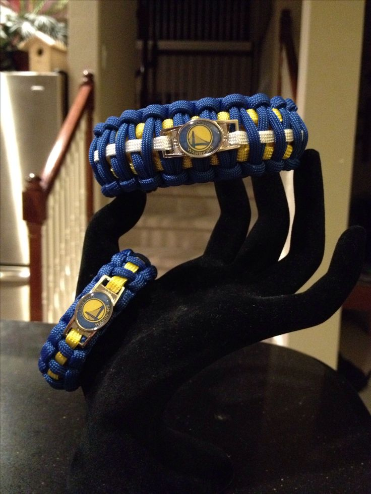 Golden State Warriors paracord.