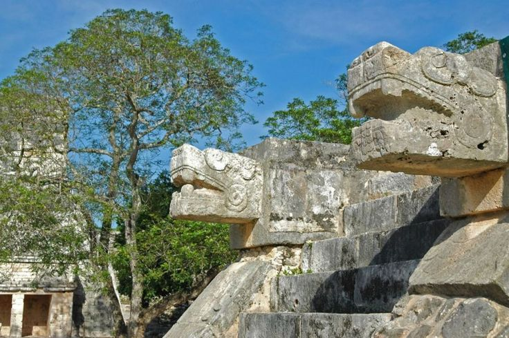 #Mayan details at #Chitchen-Itza in #Mexico | Picfari.com