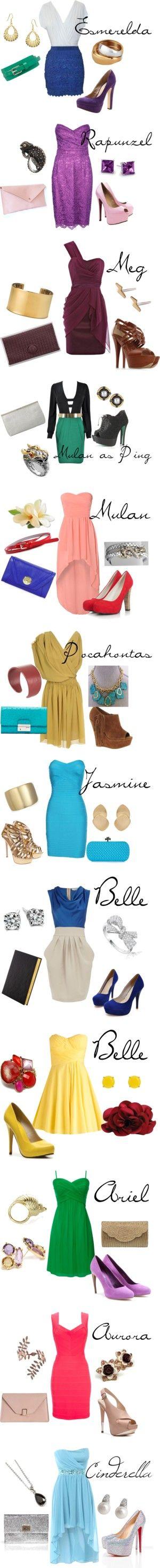 Dress like a Princess. -- I love it!