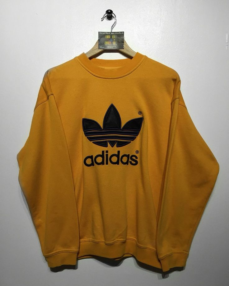 Love the colour Adidas Sweatshirt Size Medium £34 Website➡️ www.retroreflex.uk #adidas…