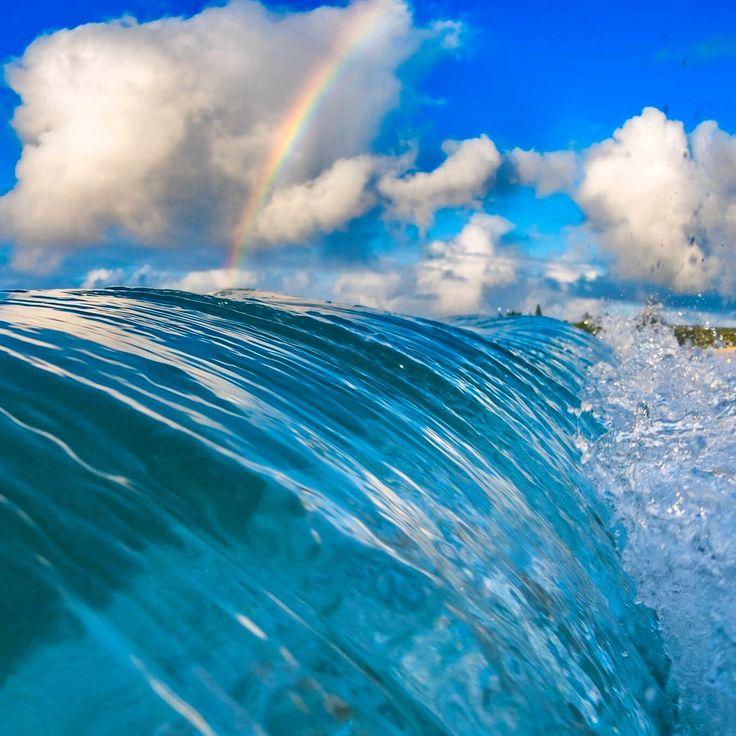 Liquid blue under the rainbow - Marco Mitre